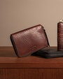 Como wallet Dark brown Saddler