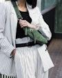 Chicago shoulder bag Green Saddler