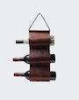 Wine rack vinställ Mörkbrun Saddler