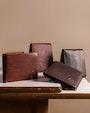 Mandal wallet Dark brown Saddler