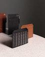 Noah card holder Black Saddler