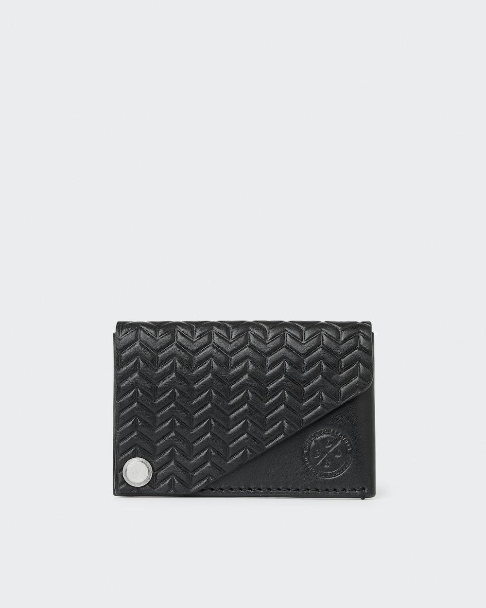 Oliver card holder Black Saddler