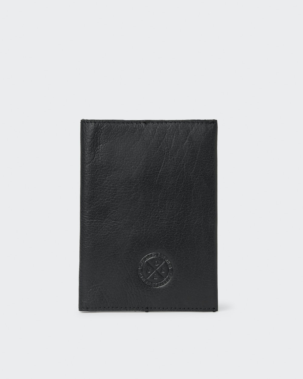 Harry passport cover Black Saddler