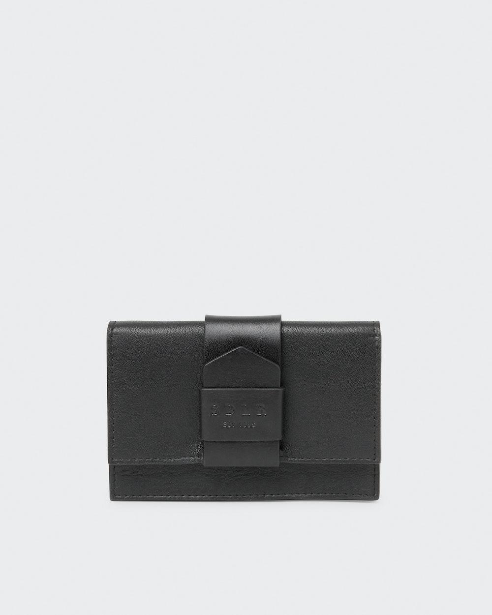 Elizabeth wallet Black Saddler