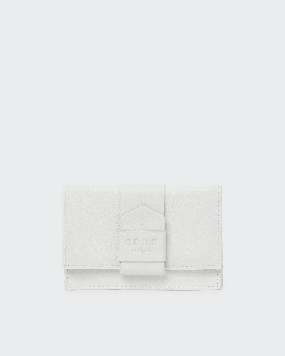 Elizabeth wallet White Saddler
