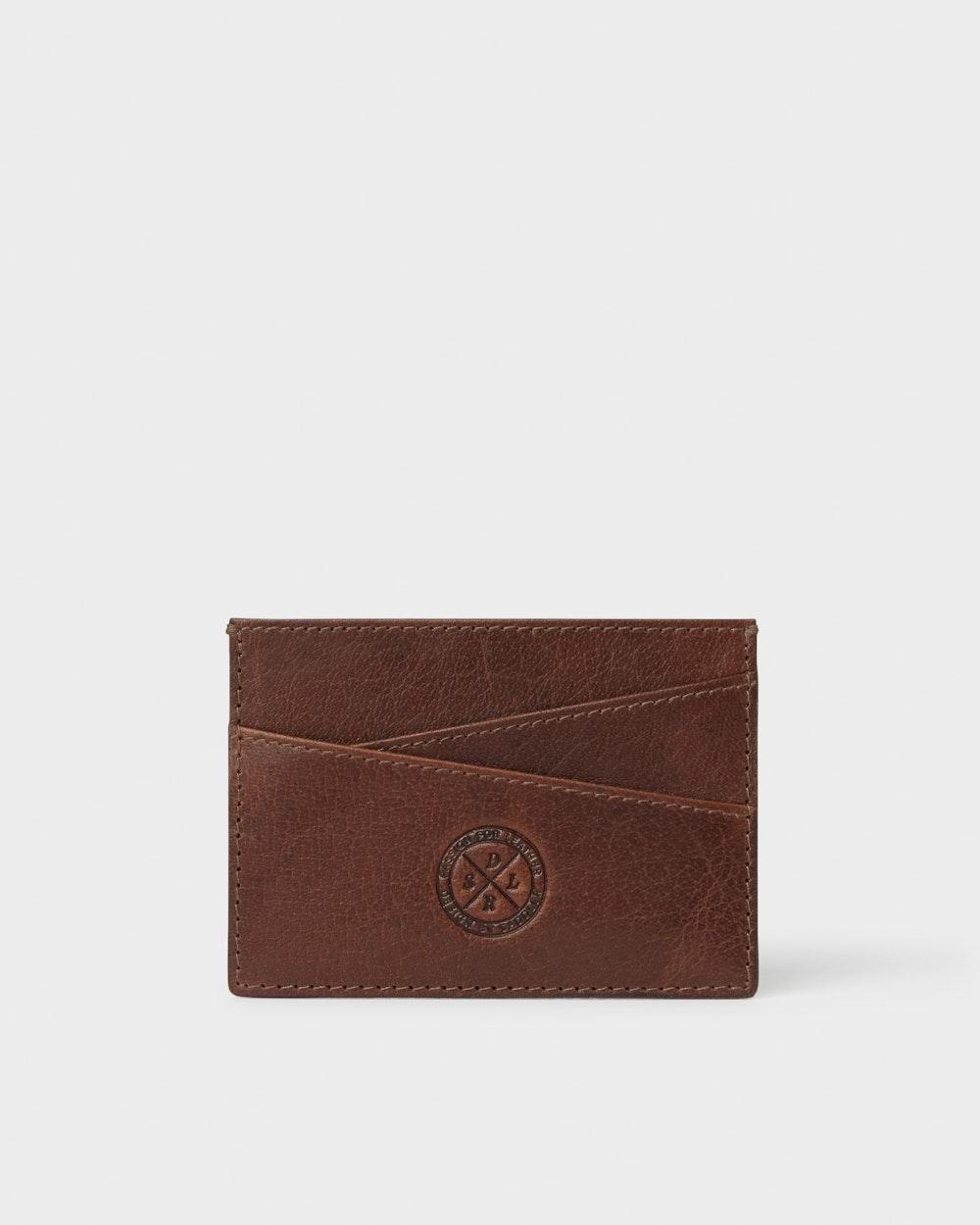 Carl card holder Brown Saddler