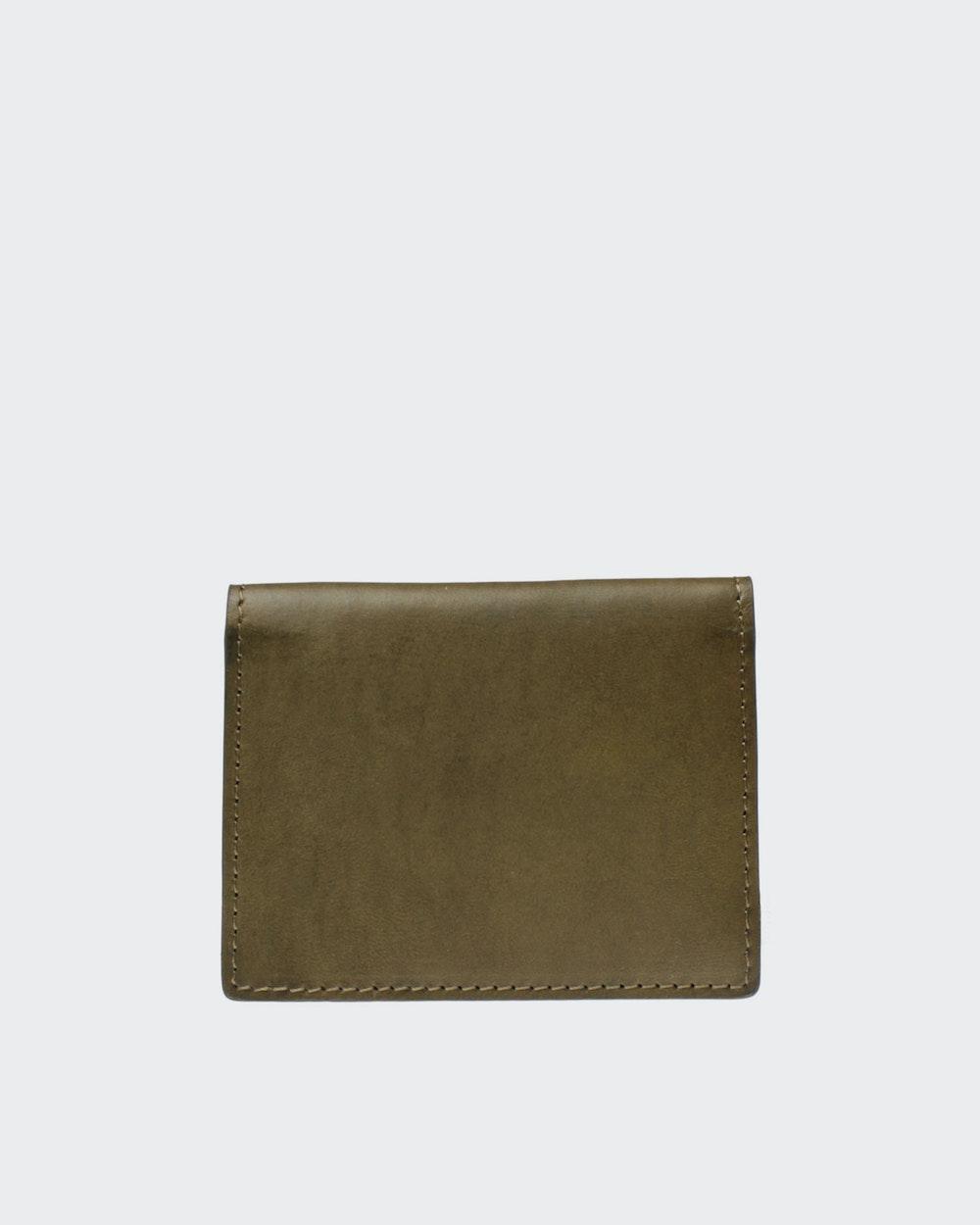 Ted wallet Green Oscar Jacobson
