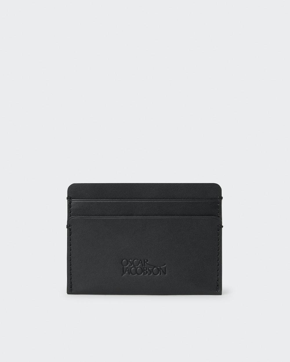 Tyler card holder Black Oscar Jacobson