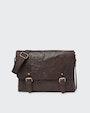 Ryan messenger bag Dark brown Saddler