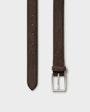 Vilhelm belt Dark brown Oscar Jacobson