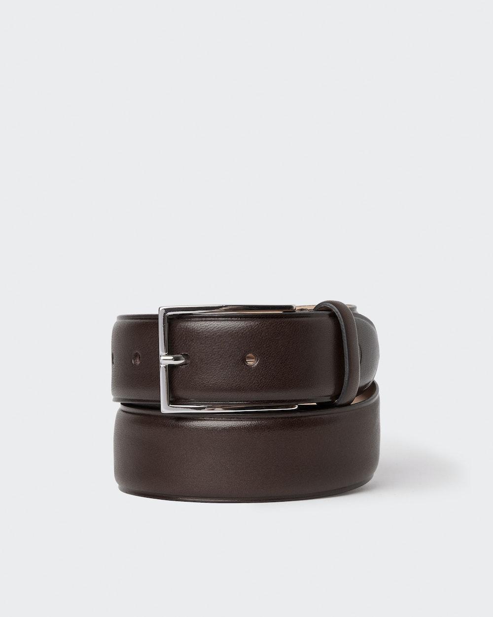 Vincent belt Dark brown Oscar Jacobson