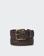 Villy belt Dark brown Oscar Jacobson