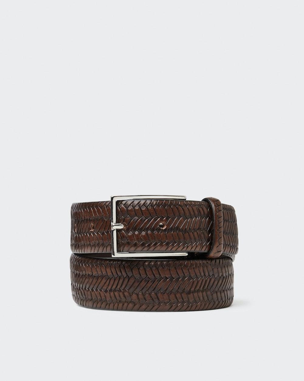 Vidar belt Dark brown Oscar Jacobson