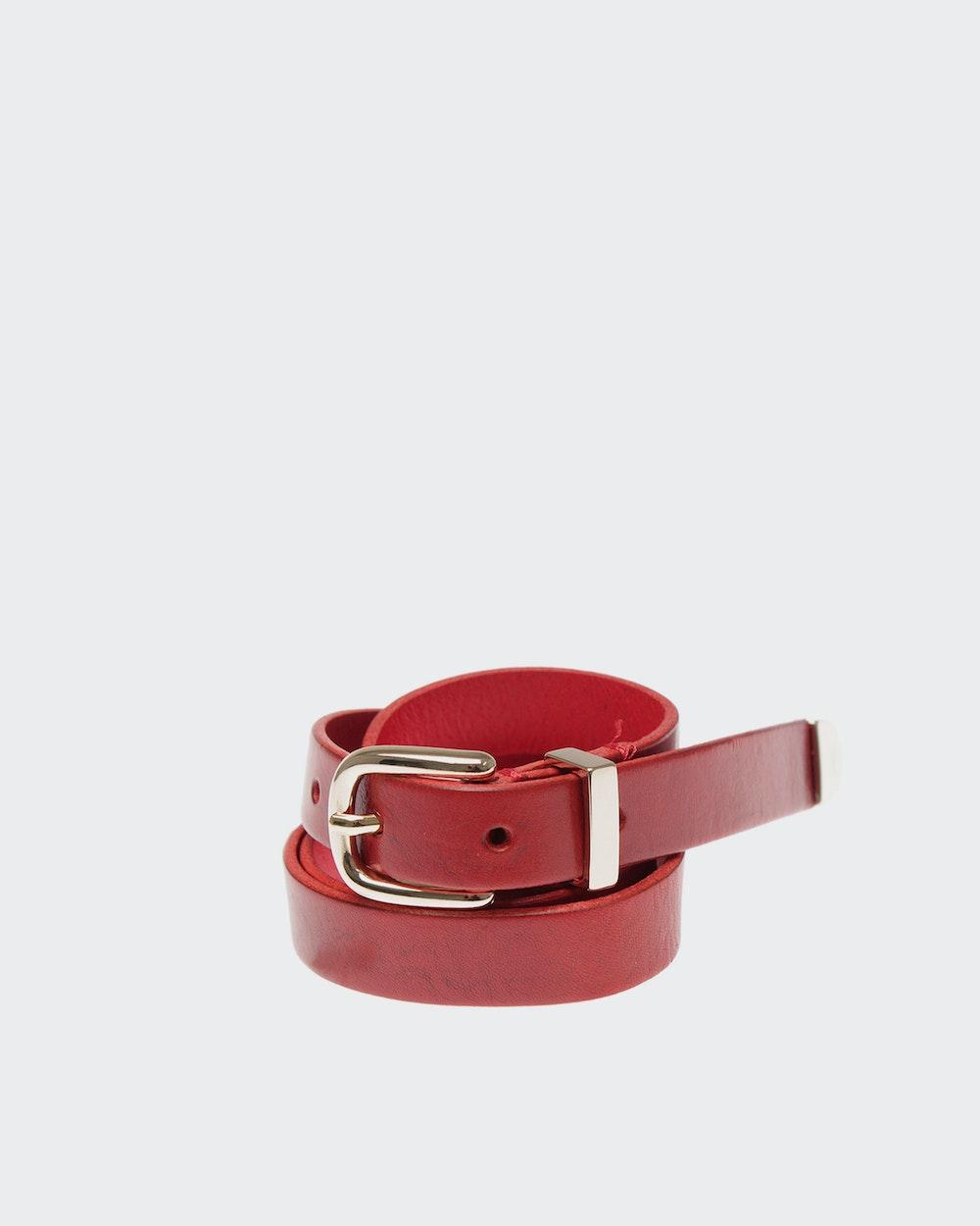Lea belt Red Morris