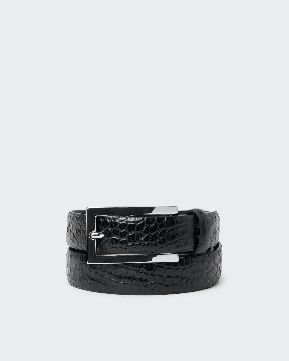 Persson belt Black Saddler