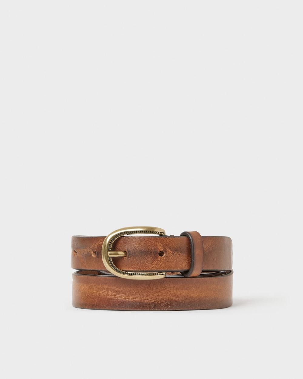 Wichita belt Brown Saddler