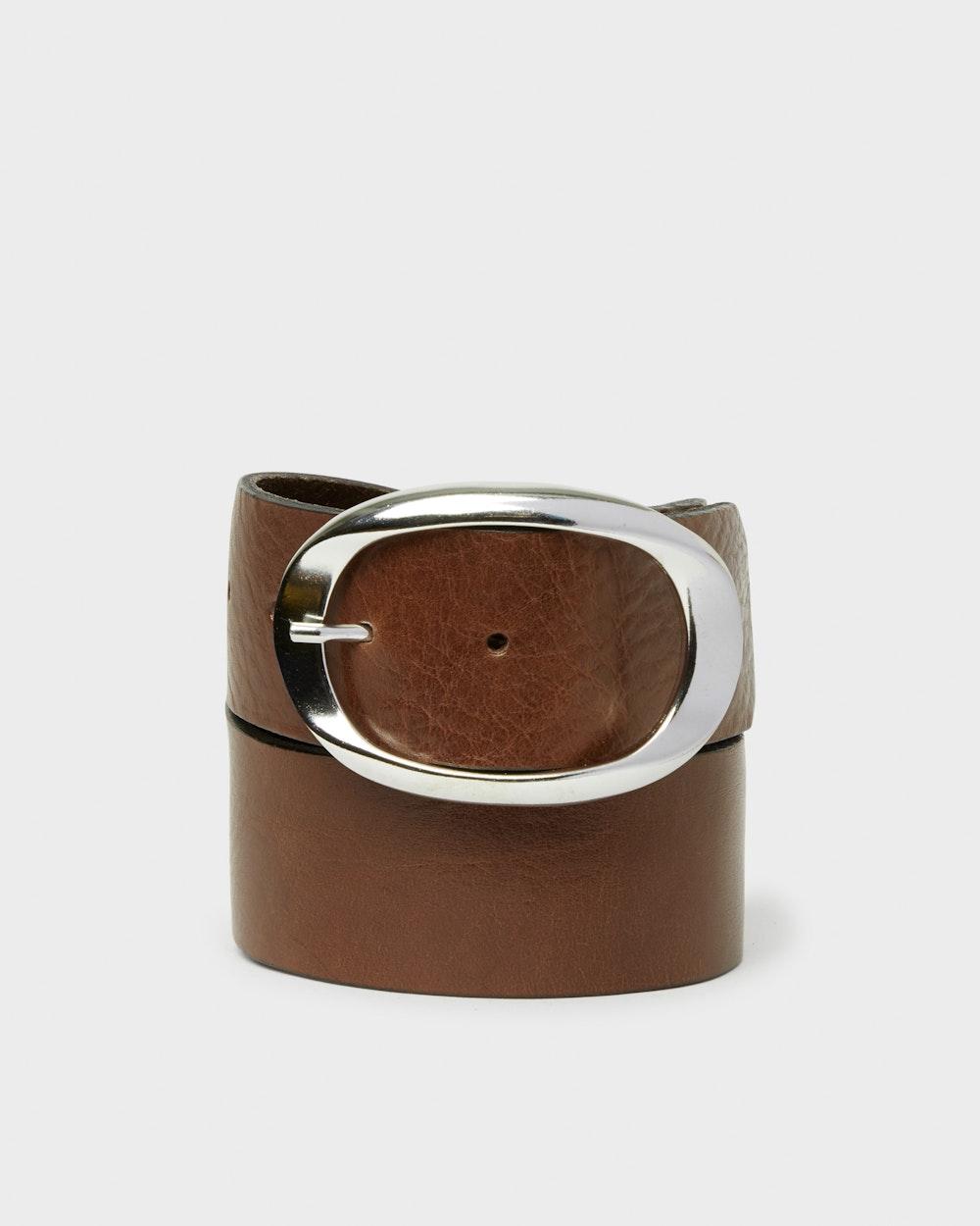 Halden bälte Mörkbrun Saddler