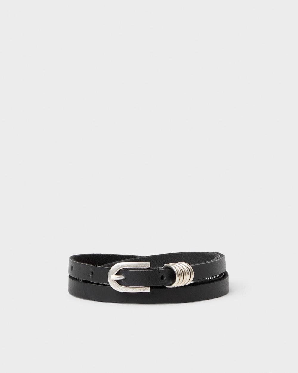 Hokksund belt Black Saddler