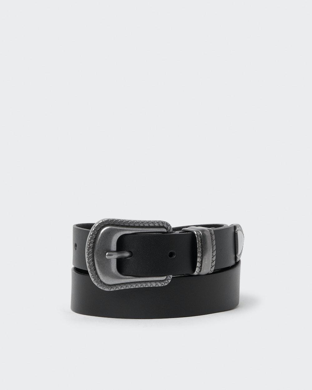 Runa belt Black Saddler