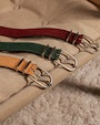 Juni belt Green Saddler