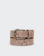 Sigrid belt Pink Saddler