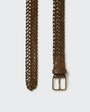Skive belt Dark brown Saddler