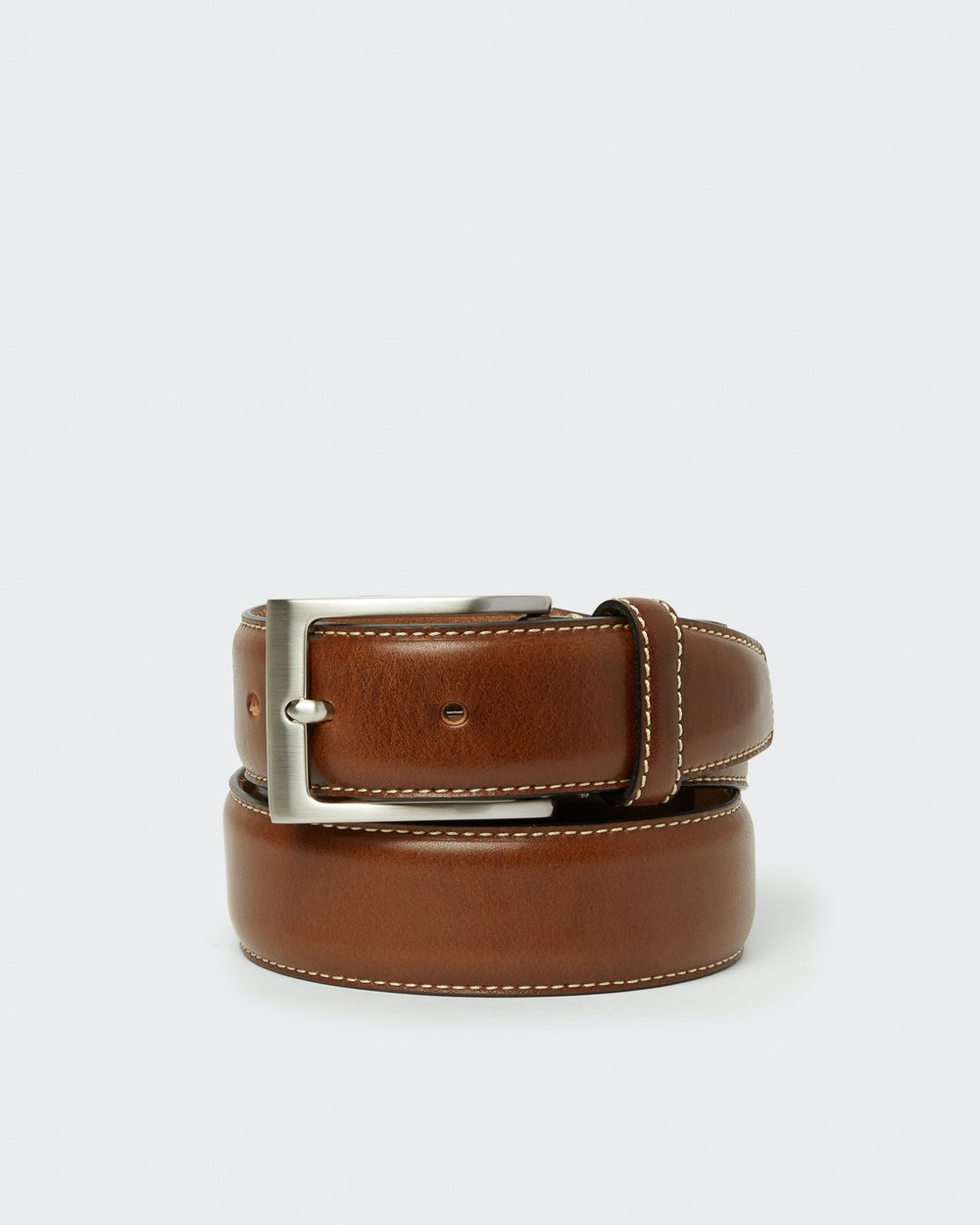Odense belt Brown Saddler
