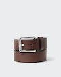 Ribe belt Brown Saddler