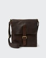 Verdal messenger bag Dark brown Saddler