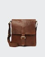 Verdal messenger bag Brown Saddler