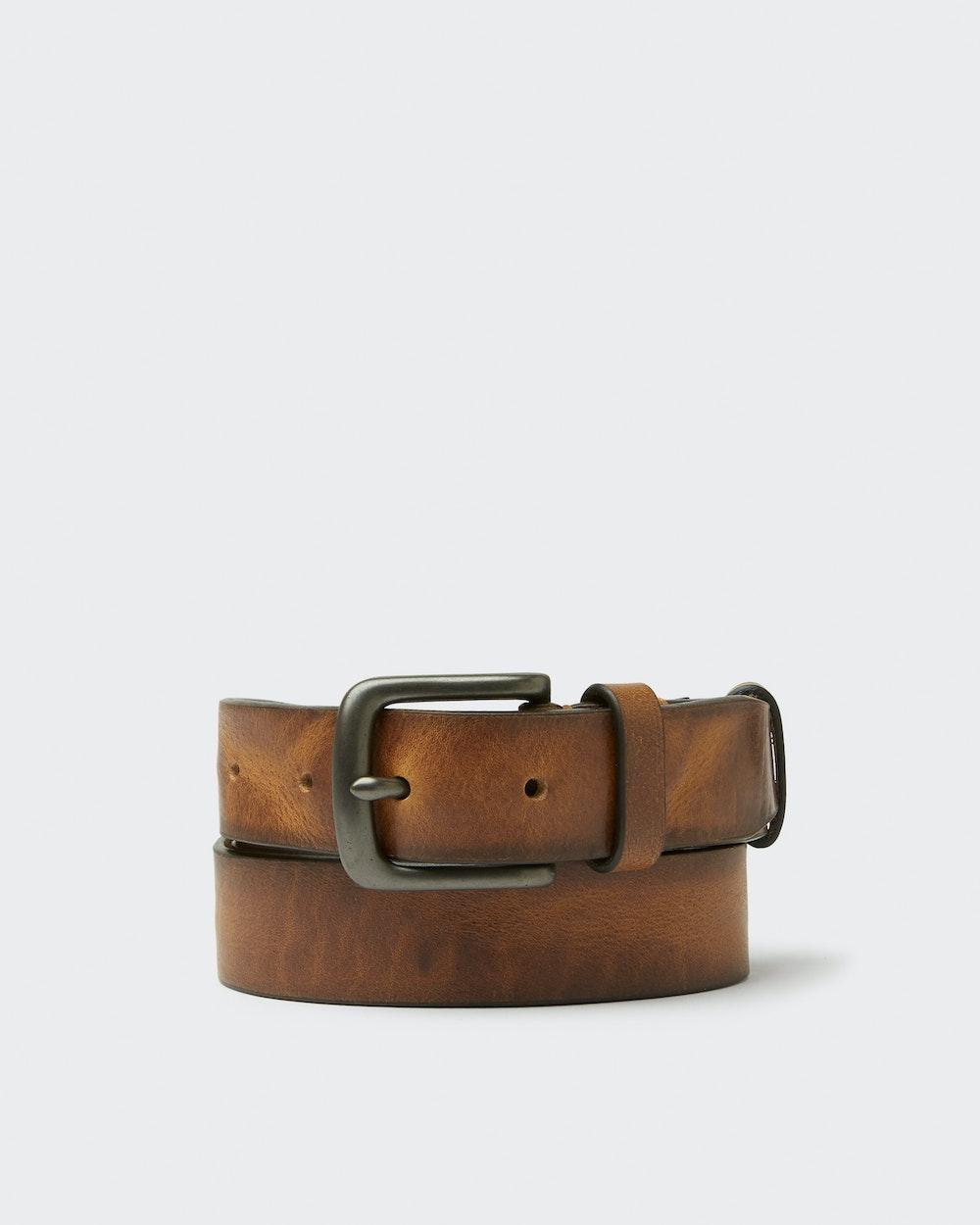 Dahlin belt Brown Saddler