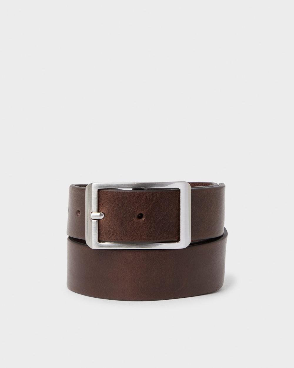 Holloway belt Dark brown Saddler