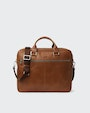Hamar computer bag Brown Saddler
