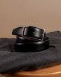Purley bälte Mörkbrun Saddler