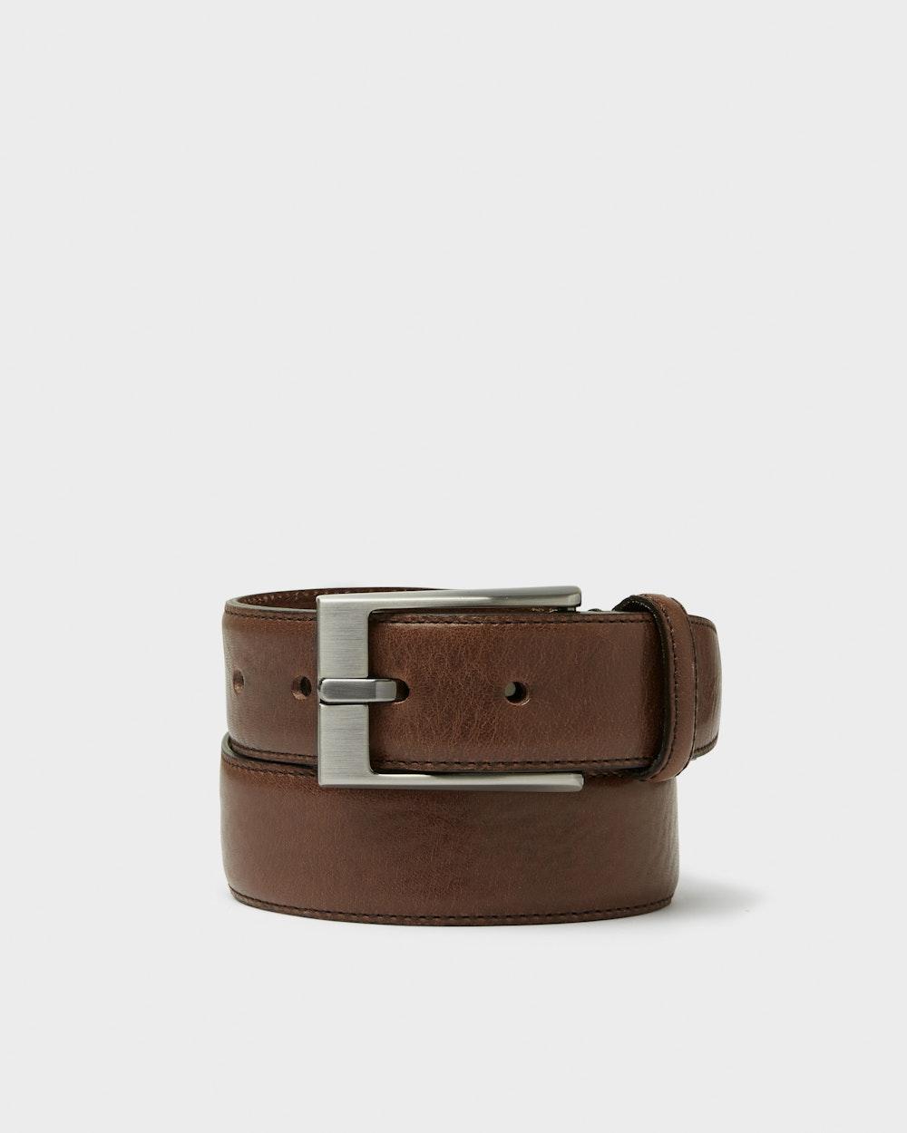 Granville belt Dark brown Saddler