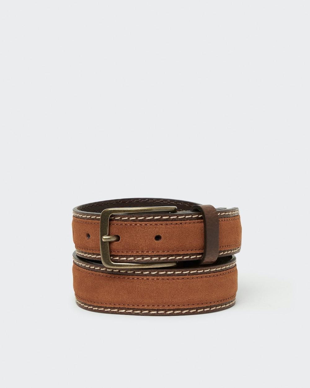 Columbus belt Brown Saddler