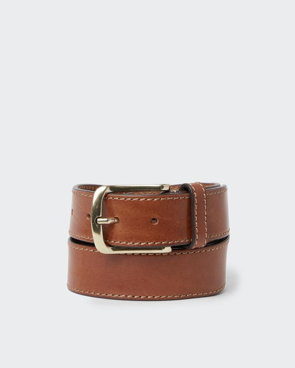 Egersund belt Brown Saddler