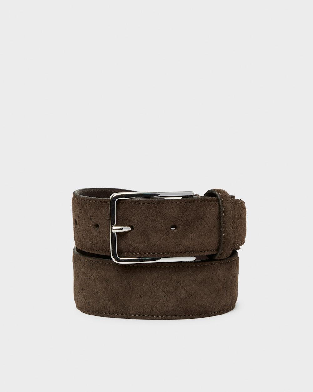 Einar belt Dark brown Saddler