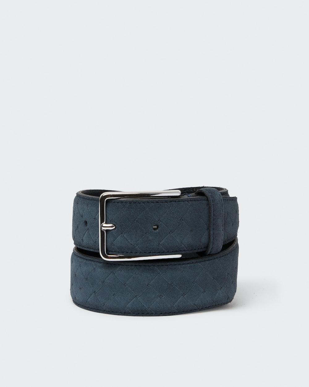 Einar belt Blue Saddler
