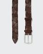 Alec belt Dark brown Saddler