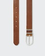 Kopervik belt Brown Saddler