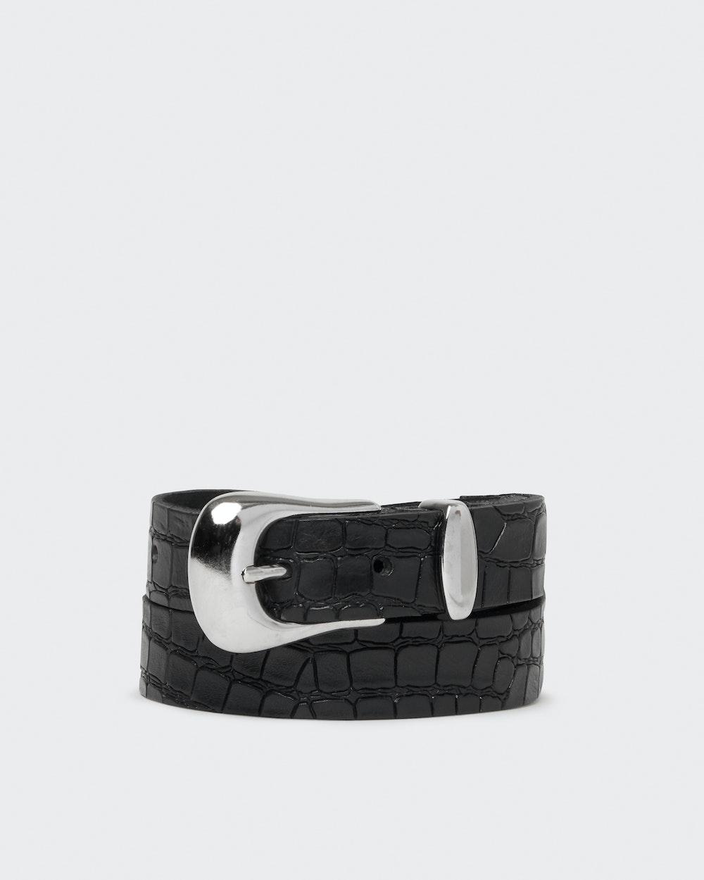 Abigail belt Black Saddler