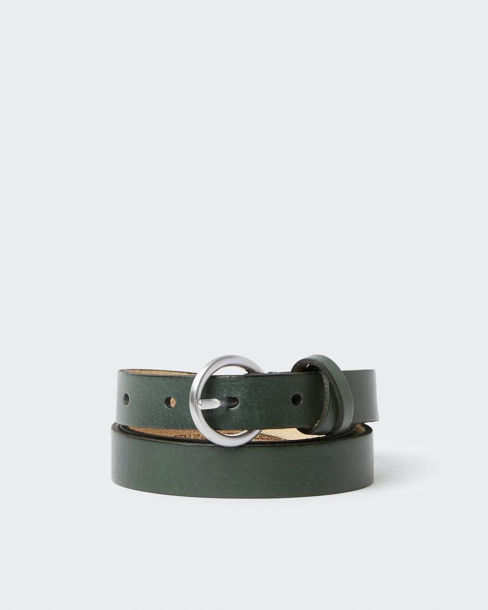 Esbjerg belt Green Saddler