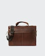 Birger computer bag Brown Saddler