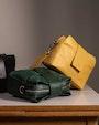 Alice shoulder bag Green Saddler