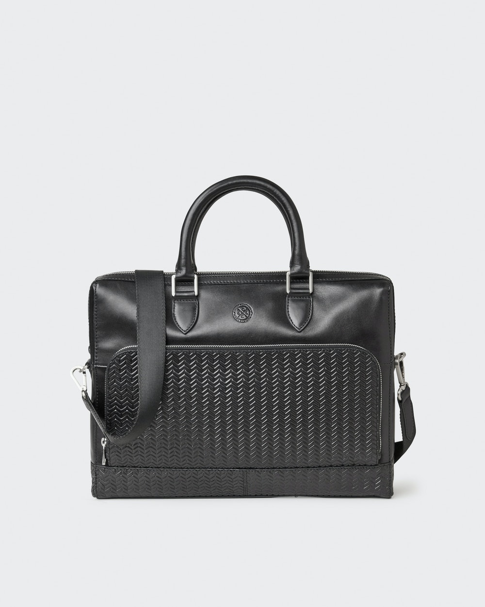 Oscar computer bag Black Saddler