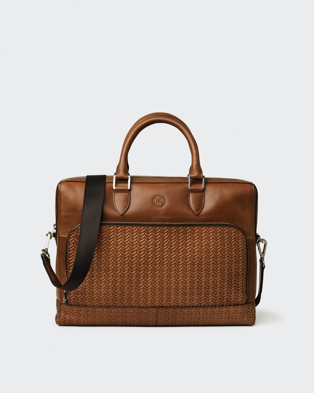 Oscar computer bag Brown Saddler