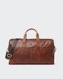 Leo weekend bag Brown Saddler