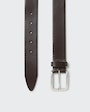 Jacques belt Dark brown Saddler