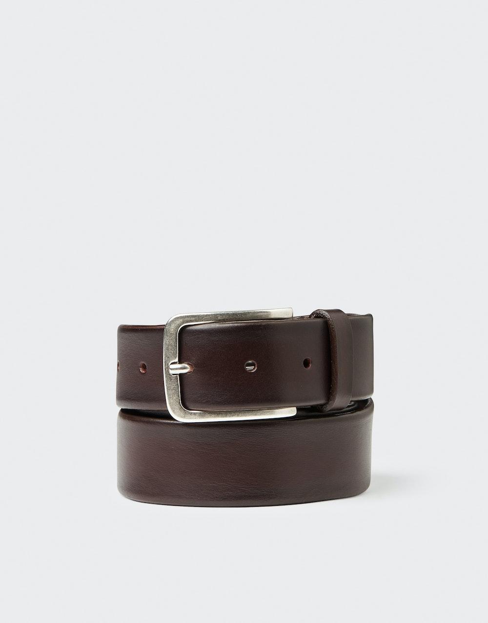 Jacques belt Dark brown Saddler